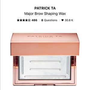 NWT Patrick ta brow wax